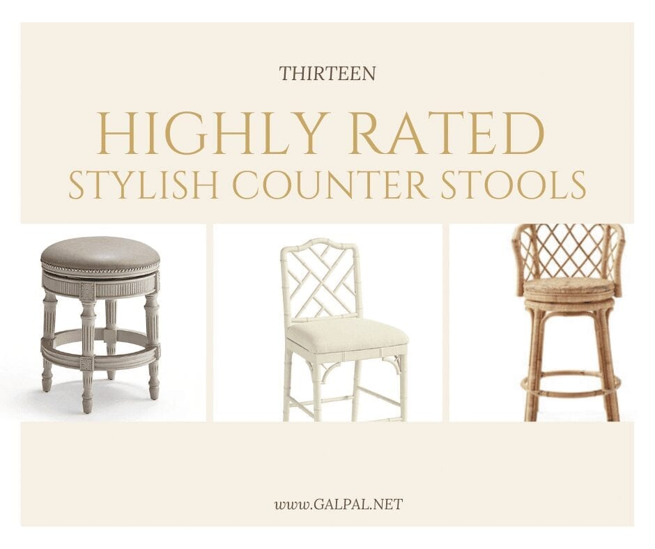 13 highly Rated Stylish Kitchen Counter Stools-