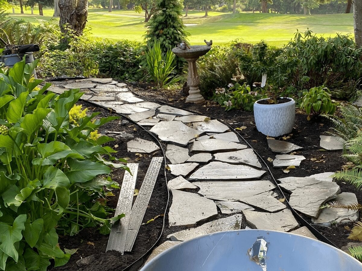 How To Install A Flagstone Garden Path- In 8 Simple Steps