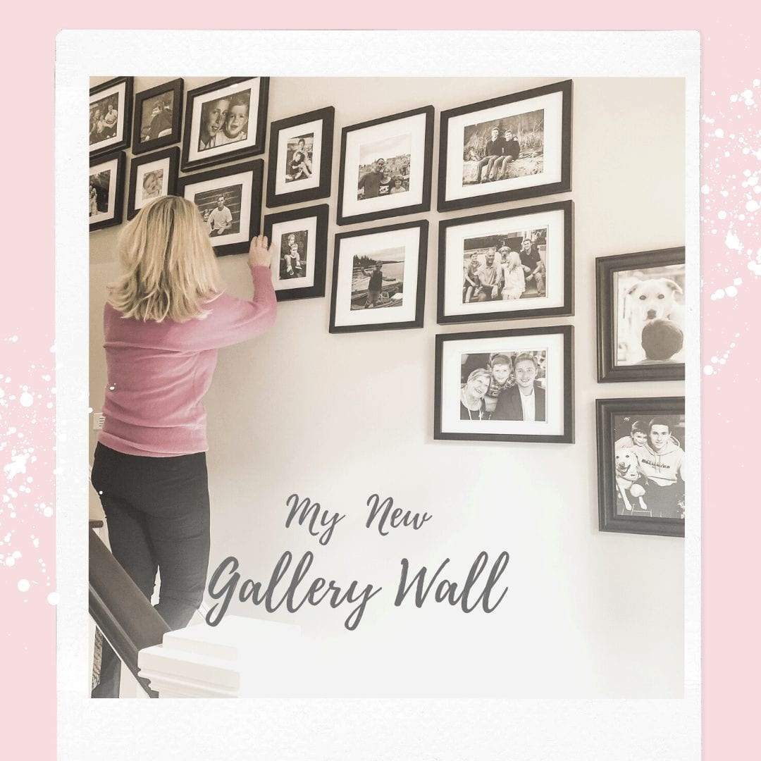 4 Easy Steps To Arrange A Family Photo Gallery Styled Wall