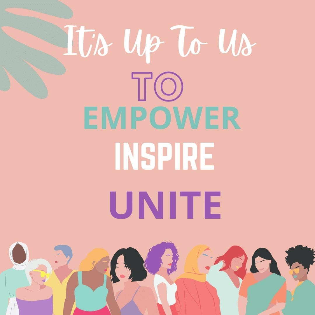 International Women's Day Charge Starts With You-Empower- Inspire- Unite