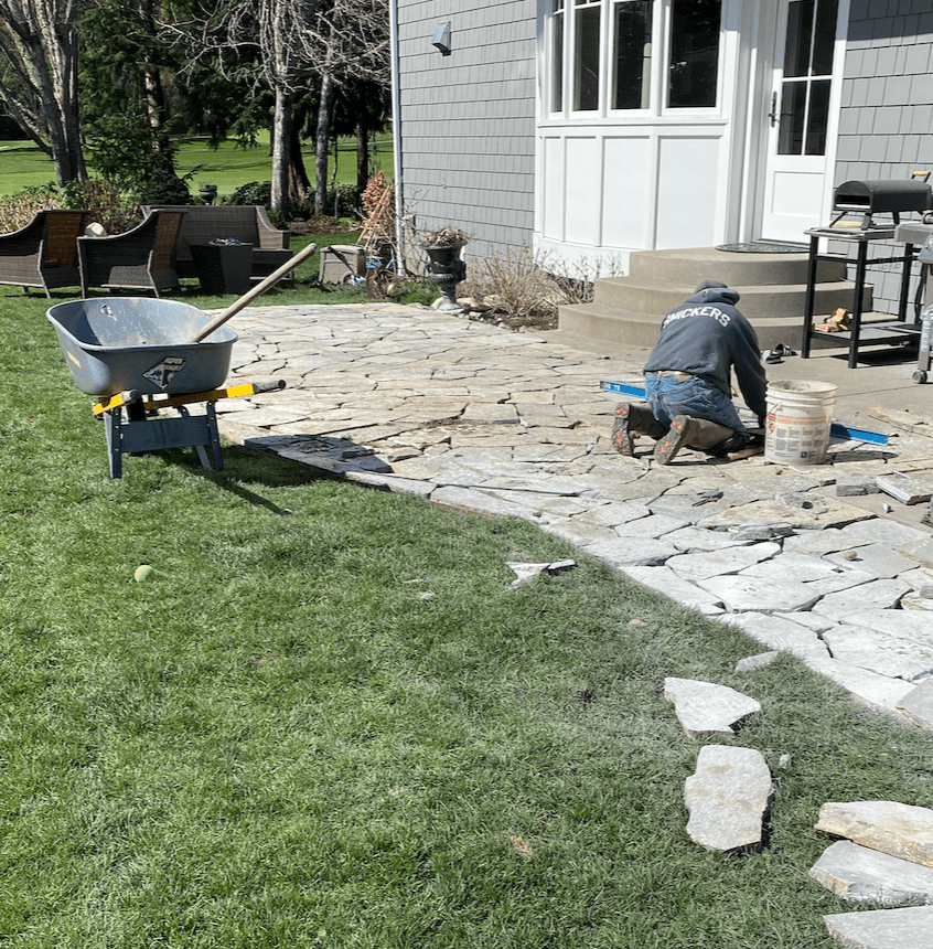 Largest Stone for winding garden path