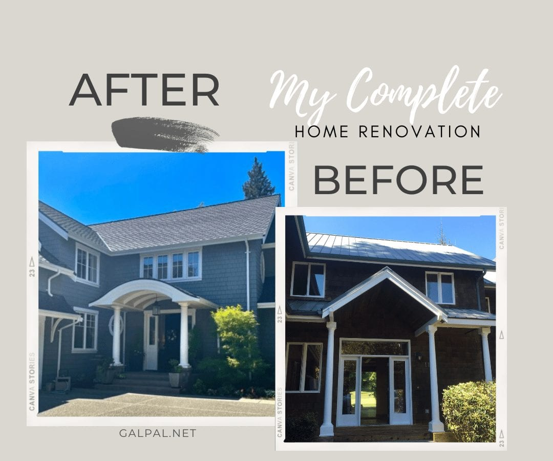 My Complete Before and After Home Renovation Tour