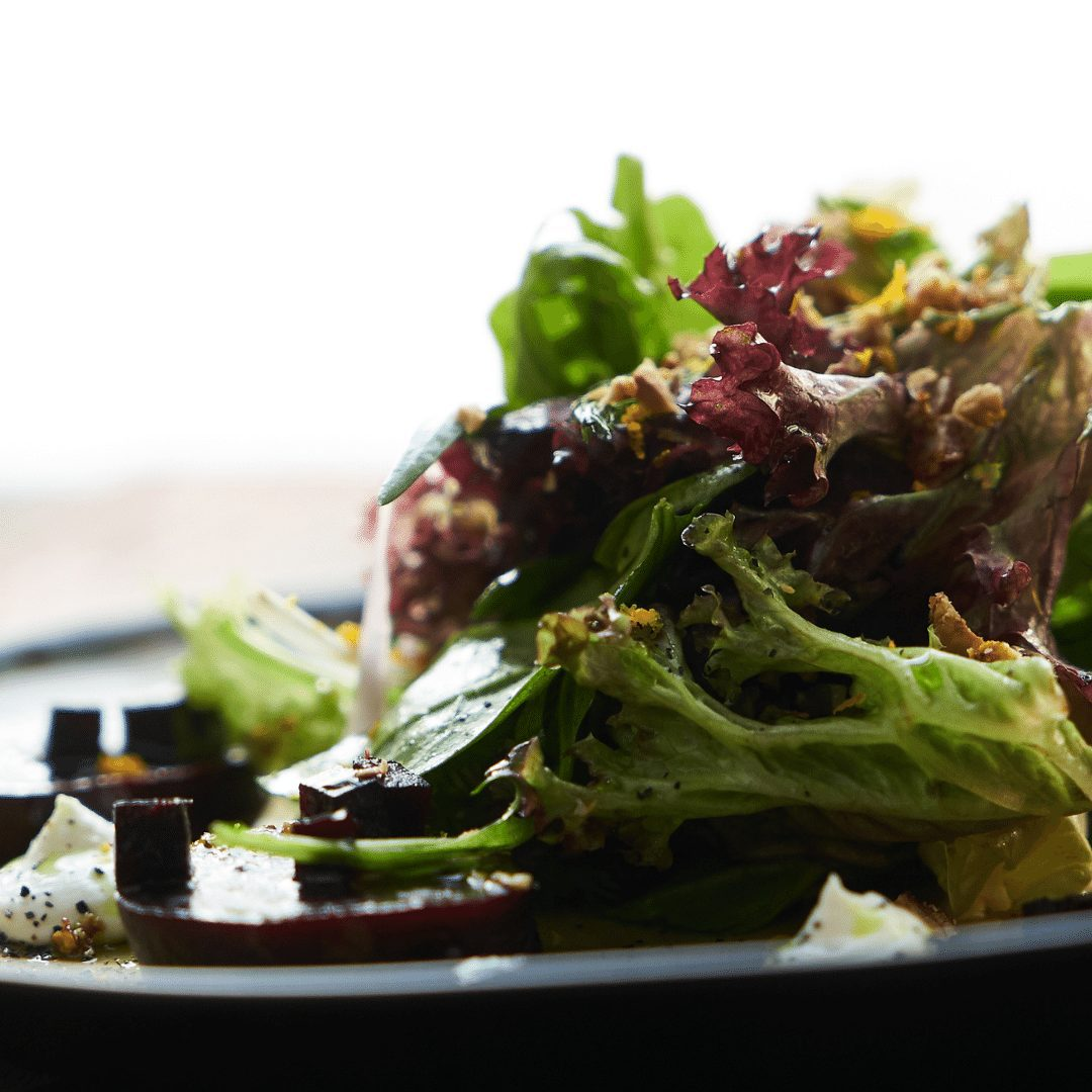 Fall Salad with Roasted Beets